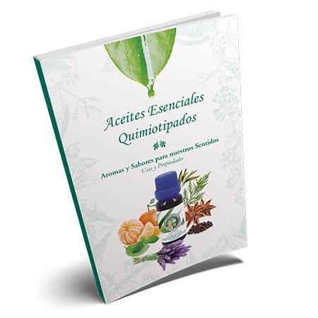 """Libro """"Aceites Esenciales Quimiotipados – Aromas y sabores para nuestros sentidos"""""""