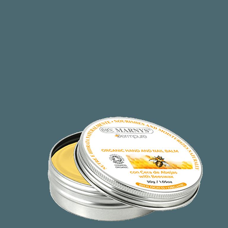 DERM004 - Bálsamo biológico de manos y uñas con cera de abejas