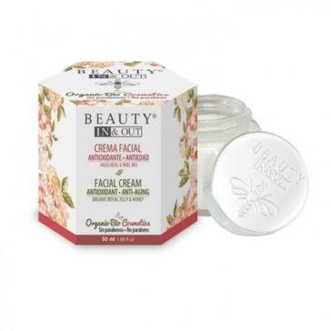 Crema Facial Antioxidante Antiedad Beauty In&Out