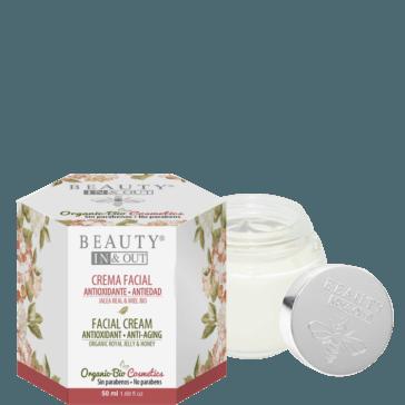 INOUT003 - Crema Facial Antioxidante Antiedad Beauty In&Out