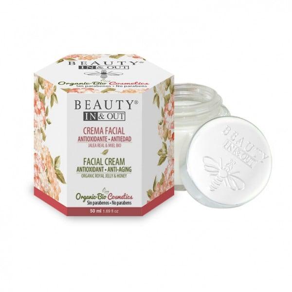 INOUT003 Crema Facial Antioxidante Antiedad Beauty In&Out
