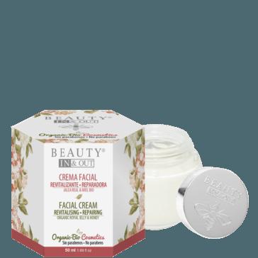 INOUT004 - Crema Facial Revitalizante Reparadora Beauty In&Out